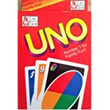 Uno Card Game, Uno Card Standard Game, Uno Game Cards Set 108 Sheet Classic Color and Number Matching Family Game Prime