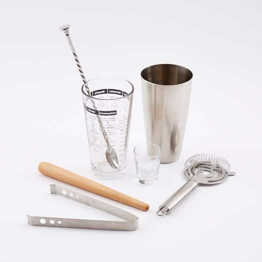 Mixology 7-Pc. Barware Set | west elm
