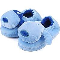 LACOFIA Pantofole Cane Bambino Invernali Scarpe Animali da casa Peluche Invernali per Bambini