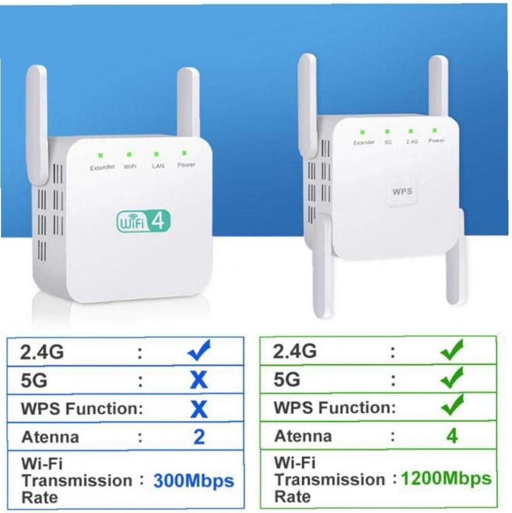 Repetidor Inalámbrico WiFi 5g WiFi Extender 2.4g Router WiFi ...