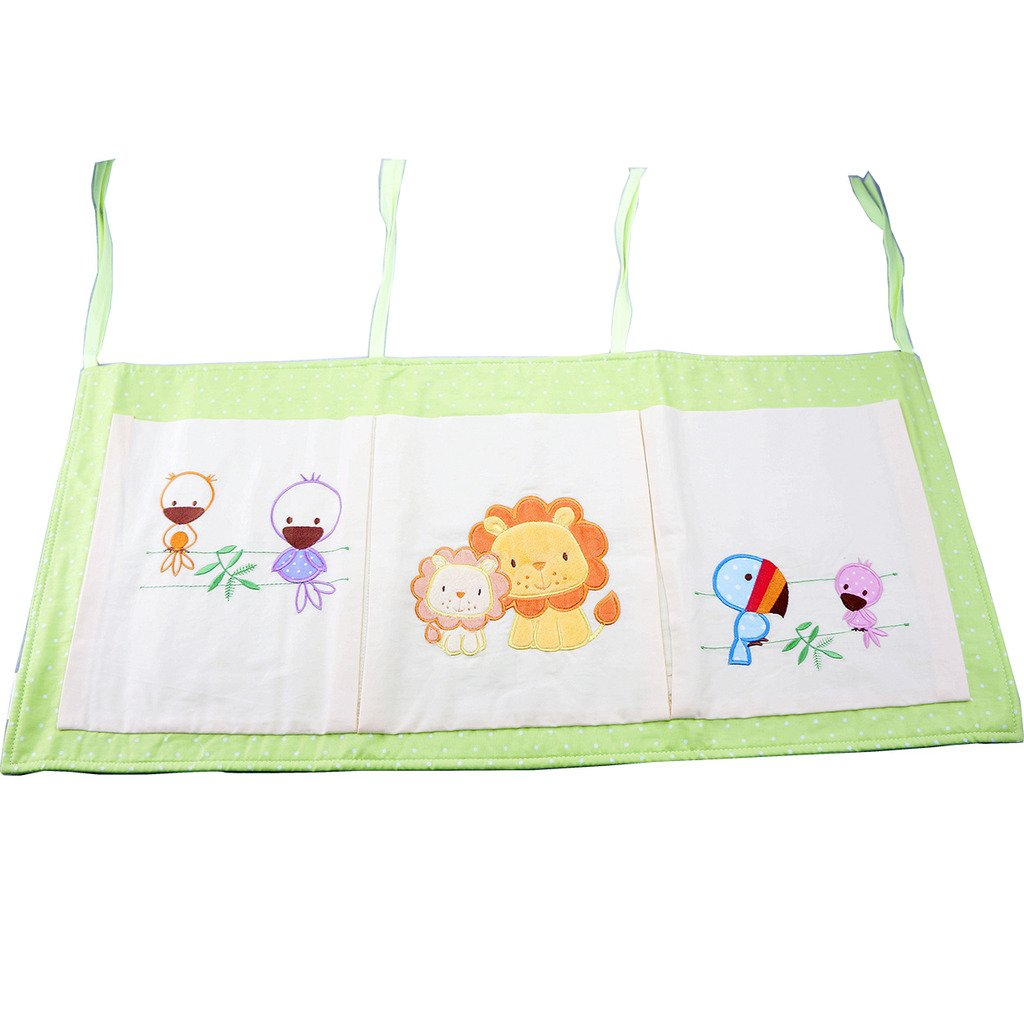TDKIDO Baby Change Nappy Stacker Diaper Organiser Hanging Storage bag 3 Pockets TDKIDS