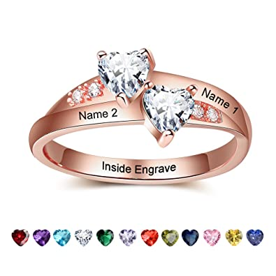 Lam Hub Fong Personalized Engagement Rings For Women With 2