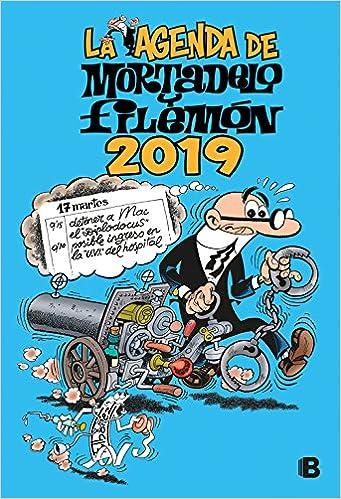 La agenda de Mortadelo y Filemon 2019: Francisco Ibáñez ...