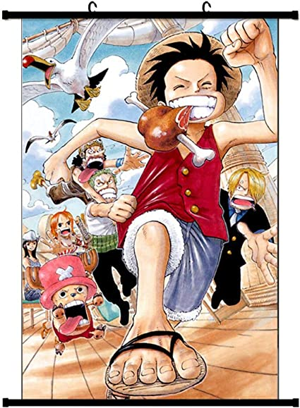 Manga Anime Japan One Piece Characters Meal Giant Wall Art Poster Print