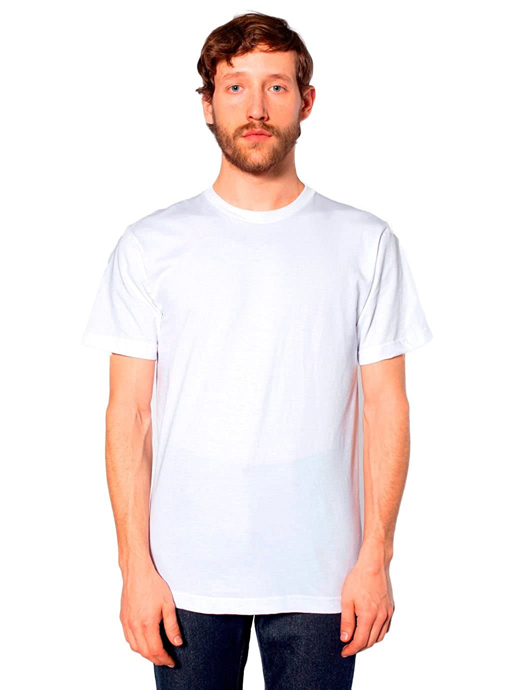 6cf4ede0297a American Apparel Men s Unisex Fine Jersey Short Sleeve T-Shirt  Amazon.ca   Clothing   Accessories