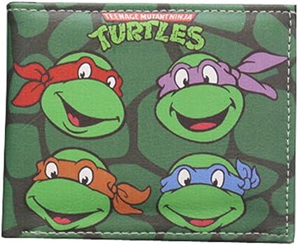 Teenage Mutant Ninja Turtles(TMNT) PU Leather Bifold Wallet (TMNT02)