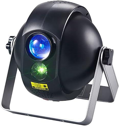LED rotación Proyector de Estrellas romántica,Control remoto luz ...