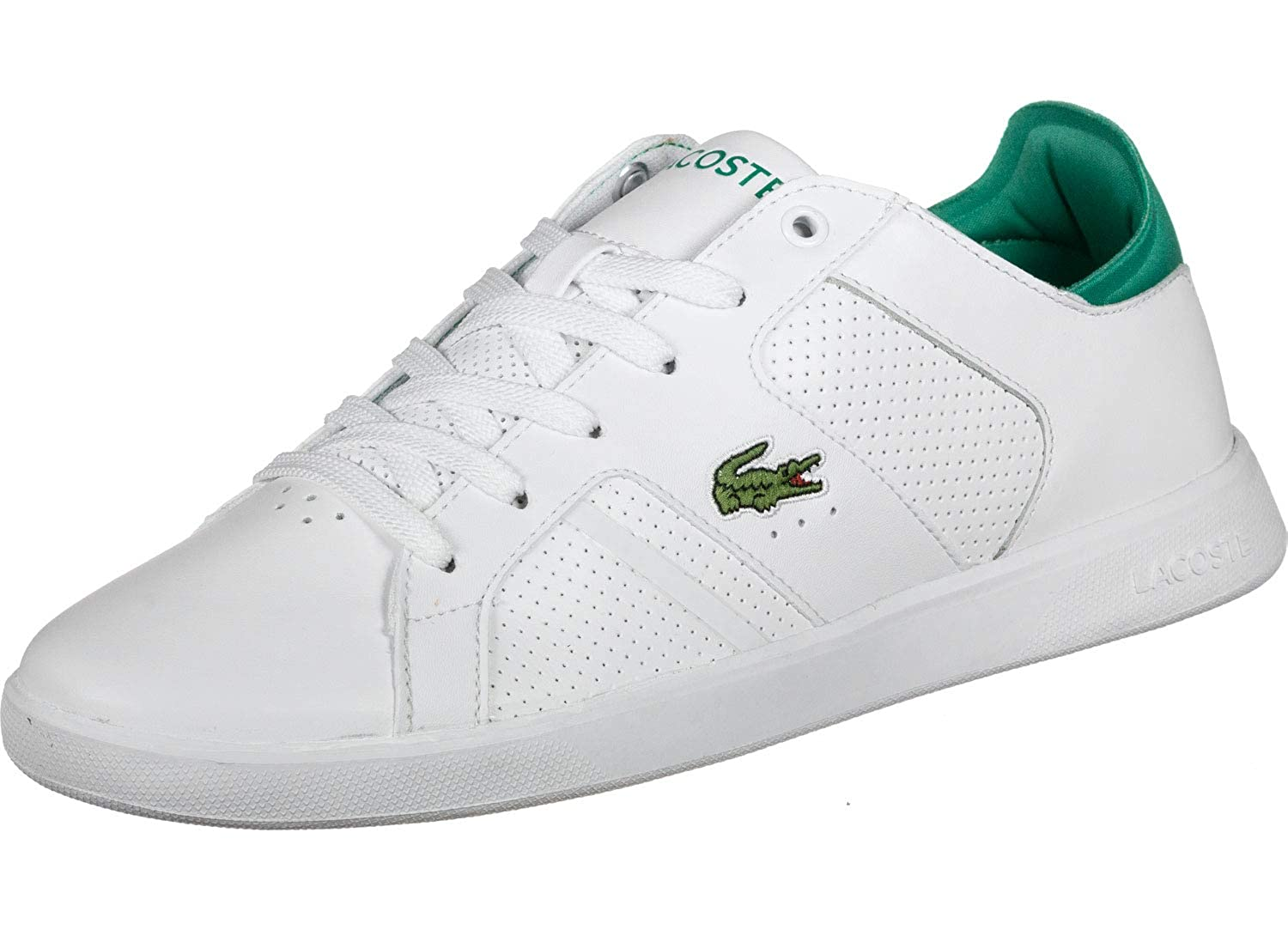 White Lacoste Novas Trainers White