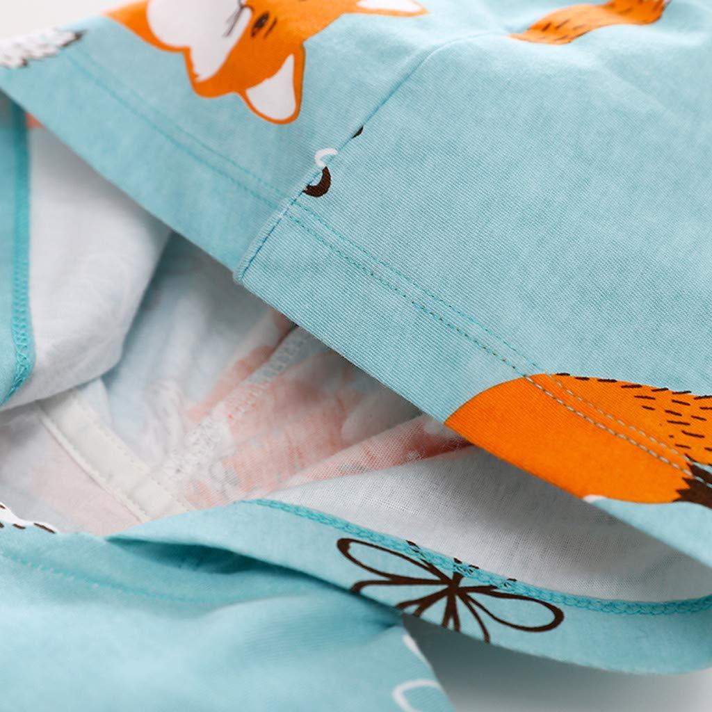 0-24M Baby-Jungen Schlafstrampler Sayla Baby Strampler Babykleidung Winter Baby-Body Fuchs Pyjam Rei/ßverschluss Jumpsuit 59//66//73//80//90 Baby Neugeborenes Schlafanzug Spielanzug