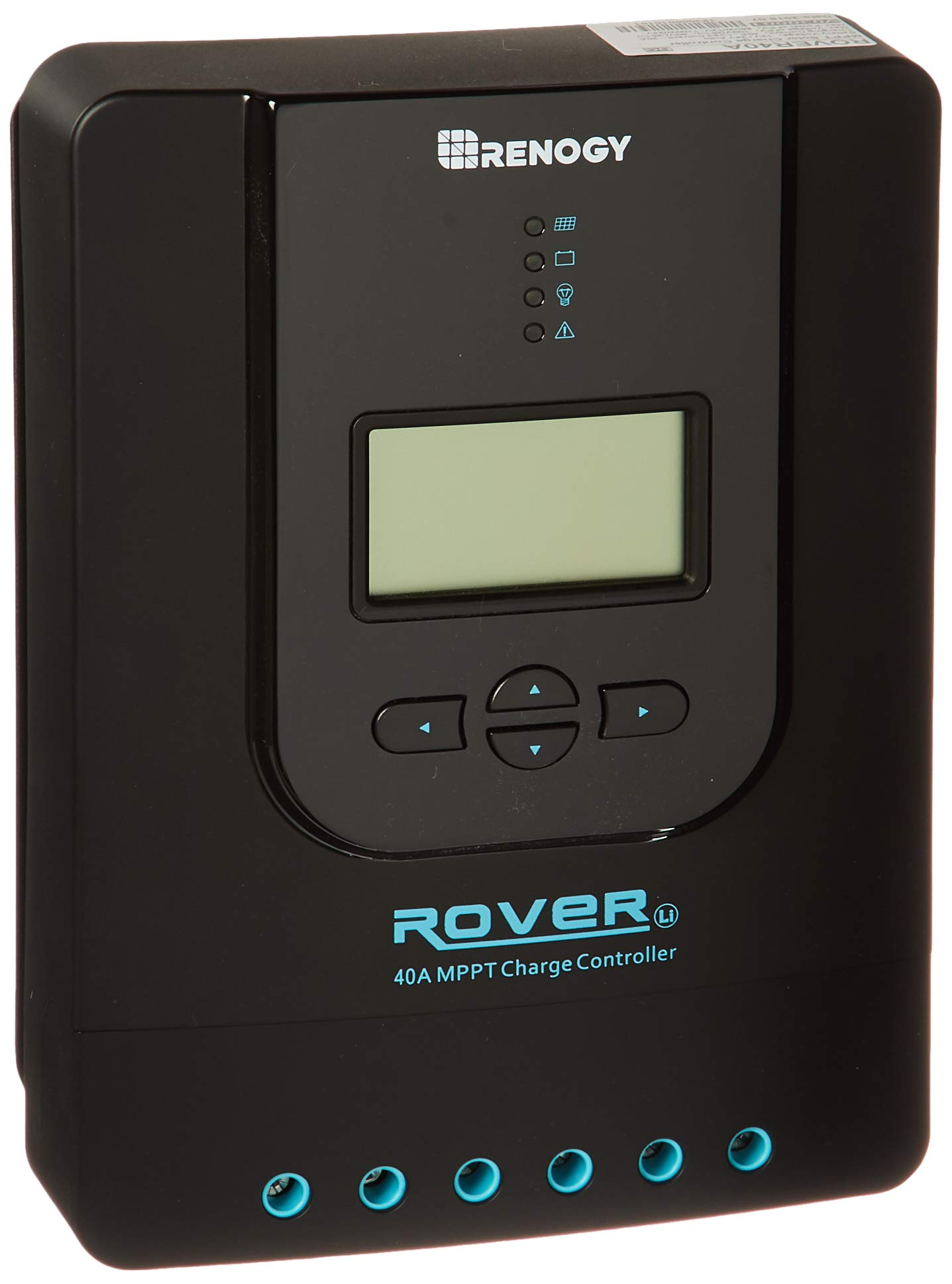Renogy Rover 40 Amp MPPT Solar Charge Controller Battery Regulator with LCD Display by Renogy