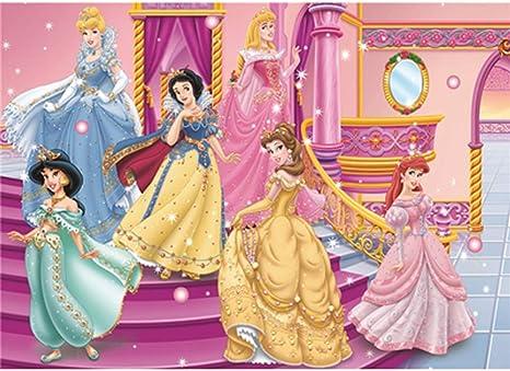 VAST Rompecabezas, Rompecabezas de Madera Decorativa, 500/1000 Piezas de Dibujos Animados Comic Disney Princess Puzzle en la Mano de la Familia Juegos interactivos 505 (Color : B , Size : 1000pc) : Amazon.es: Juguetes y juegos