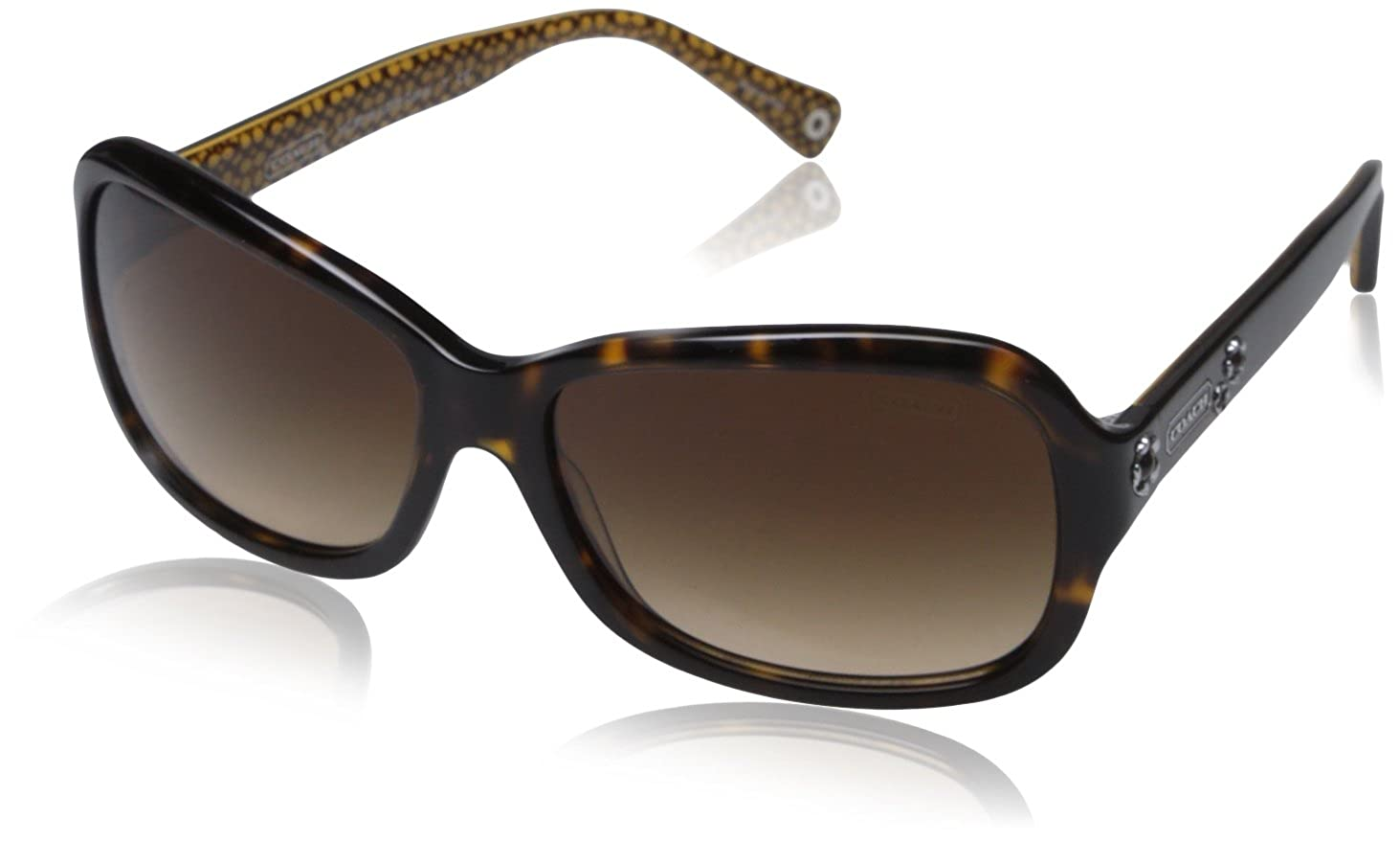10b1c5e23c53 Amazon.com: Coach HC8016 L008 Ciara Sunglasses 503313 Dark Tortoise Brown  Gradient 57 15 130: Coach: Shoes