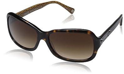 Amazon.com: Coach hc8016 de la mujer anteojos de sol, Marrón ...