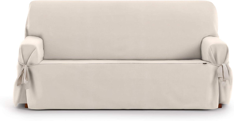 Eysa Levante Funda de sofá, Algodón, Beige, 2 PLAZAS