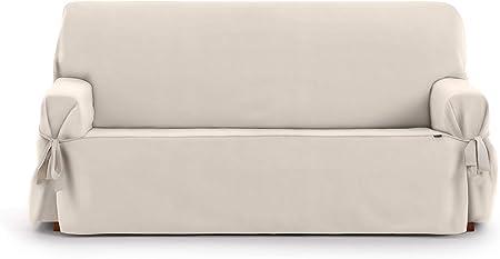 Eysa Levante Funda de sofá, Algodón, Beige, 3 PLAZAS: Amazon.es: Hogar
