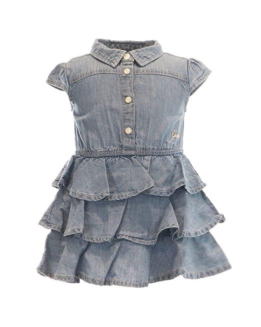 GUESS? Abitino Jeans A Balze NEONATA: Amazon.it: Abbigliamento
