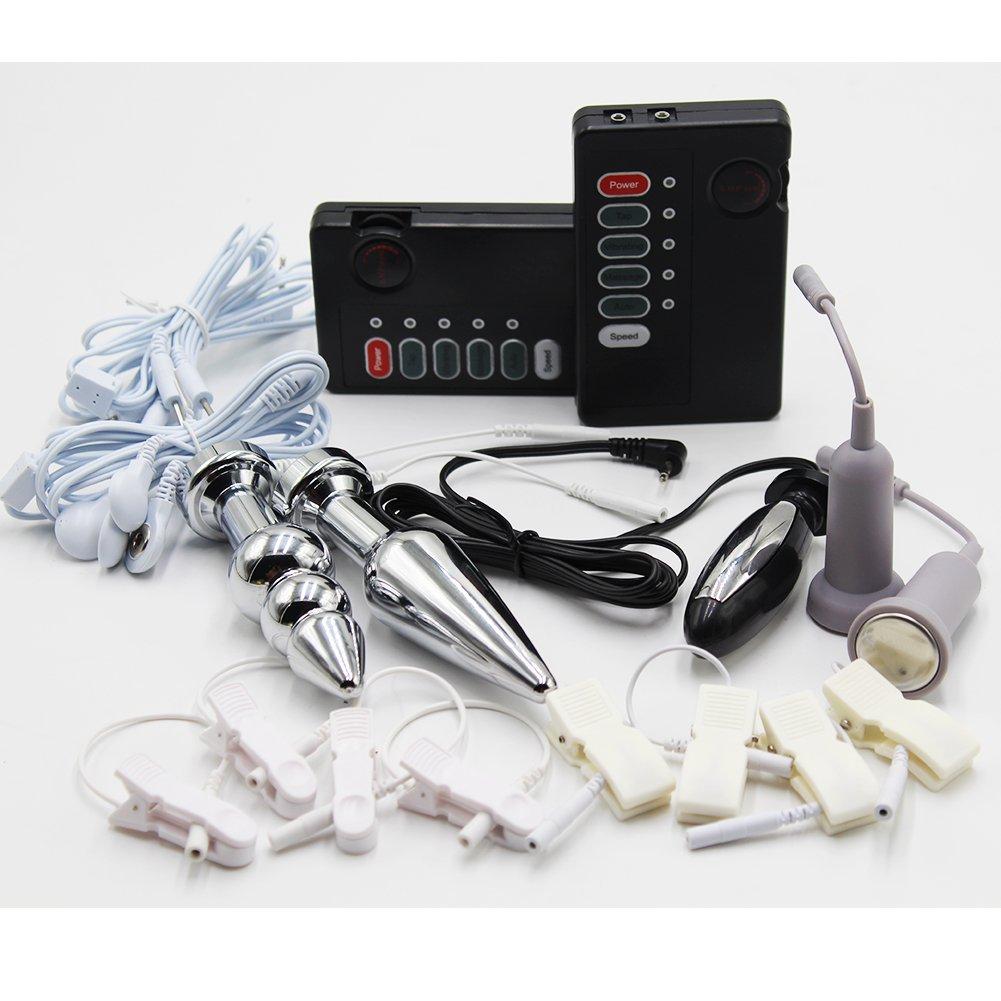 全身マッサージ機 BDSM電子パルス低周波治療器 コード[LC04] B07BKPT5Y6