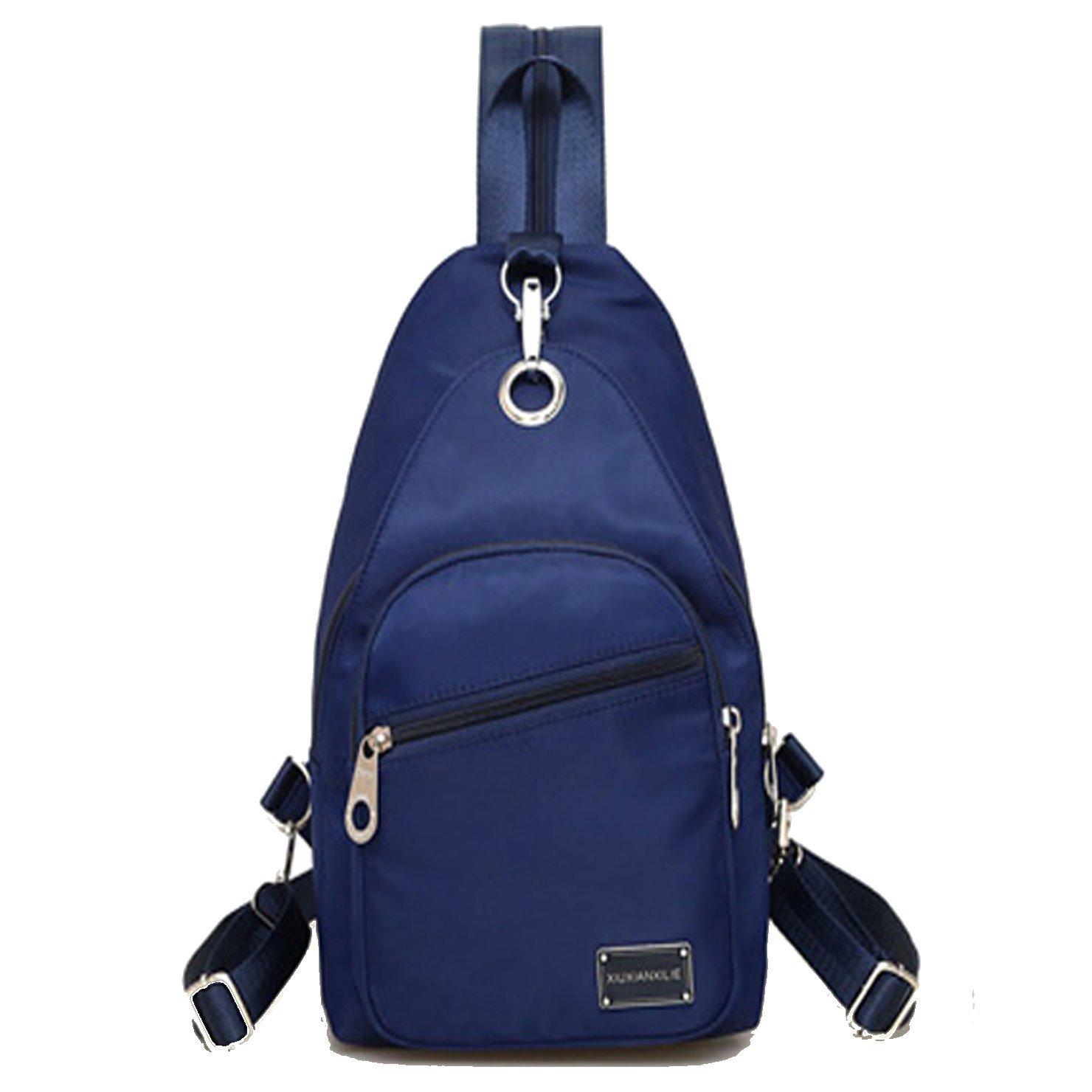 f0db102547f3 Amazon.com  Lustear Sling Bag For Men   Women Crossbody Backpack (Navy  Blue)  Shoes