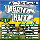 Party Tyme Karaoke - Country Hits 10 [16-song CD+G]