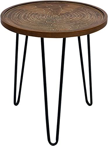 Side Table Nightstand Round Sofa End Table