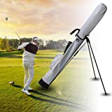 ゴルフバッグ -セルフスタンド ゴルフ クラブ ケース 【フード 大型ポケット付き】【軽量 1000g 全3色 9本収納】 クラブケース2019年最新版