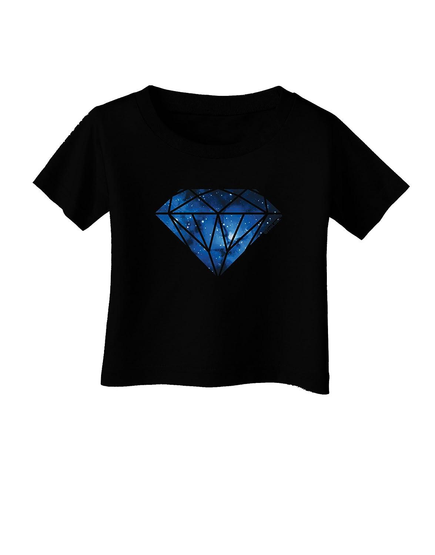 TooLoud Space Diamond Infant T-Shirt Dark