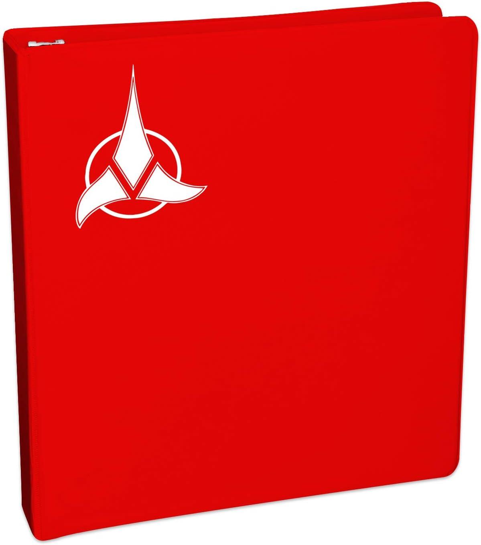 Klingon Empire Symbol Sticker Decal Notebook Car Laptop 5 Bargain Max Decals White