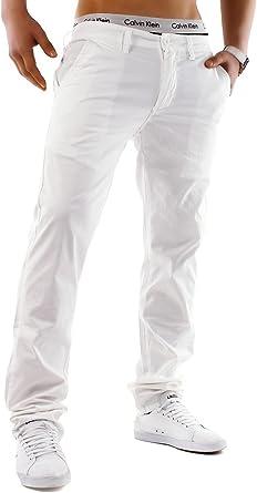 EGOMAXX Hombre Pantalones Chinos Jeans algodón Spandex Colores ...