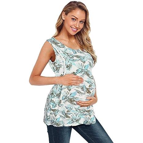 ICN&CVKX Mujeres Embarazadas T Shirts Discount,Premamá Ropa Interior,De Las Mujeres EnfermeríA Sin