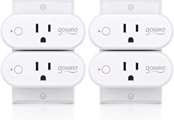 4-Pack Gosund 16A Smart Wi-fi Plug With Timer Function