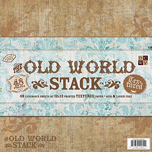 Diecuts with a View PS-005-00008 Old World 12 Inches by 12 Inches Paper Stack (Pack of 1)