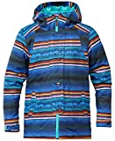 DC Apparel Big Girls' Data K 15 Snow Jacket, Peruvian Stripes, 12