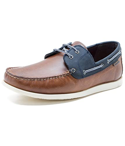 Buy Red Tape Men's Leather Boat Shoes