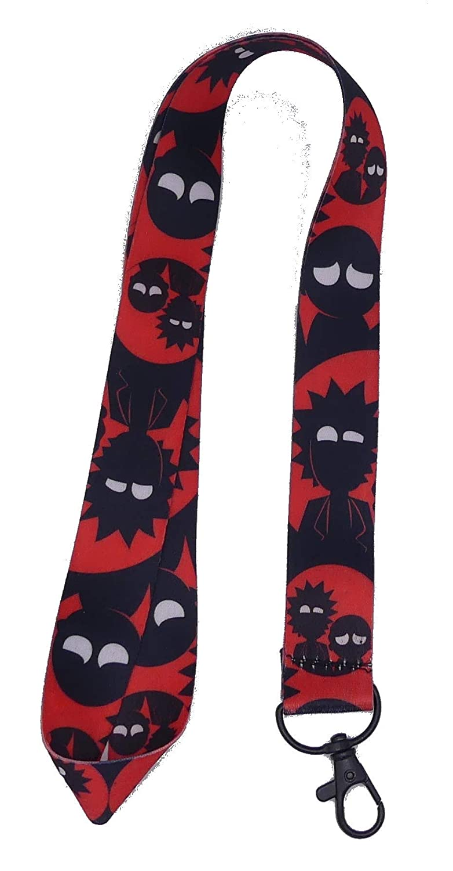 Cordons Llavero Rick & Morty fondo rojo V11: Amazon.es: Joyería
