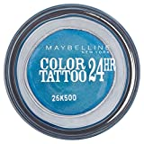 Maybelline Eye Studio Color Tattoo 24hr Eye Shadow - Turquoise Forever - Pack of 6