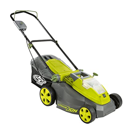 Sun Joe iON16LM Cordless Lawn Mower with Brushless Motor