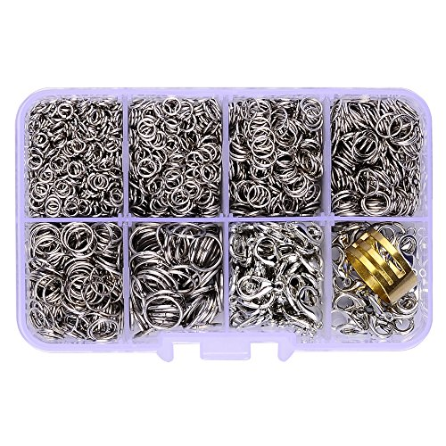 Silver 10mm Loop Clasps - 9