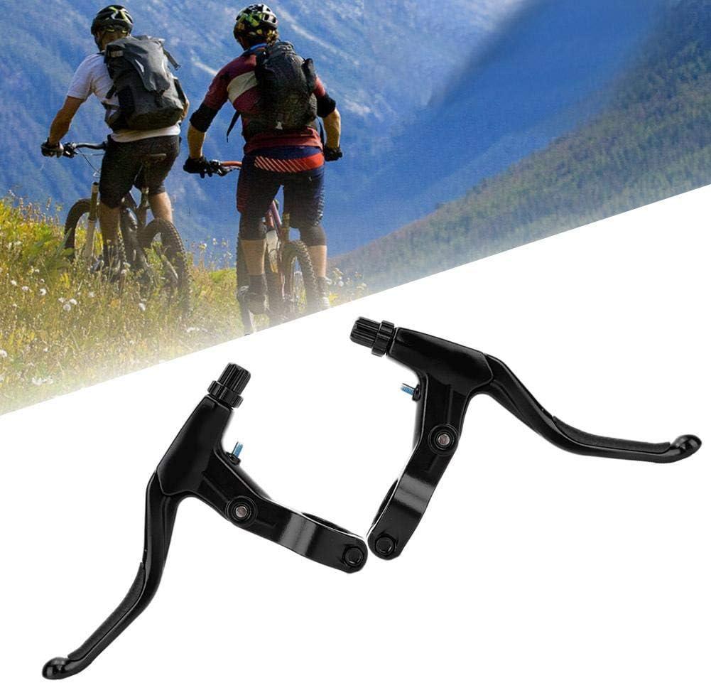Brake Handle Bike Brake Levers 1 Pair Aluminum Alloy Mountain Road Bicycle Bike Brake Handle Grip Accessory