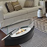 Wolfire Tabletop Ventless Ethanol Fireplace with Stainless Steel Burner