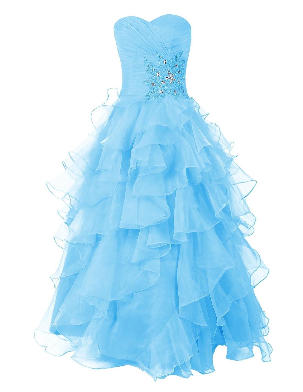 Dresstells Damen Party Kleider Promi-Kleider mit Pailletten KC10002 ...