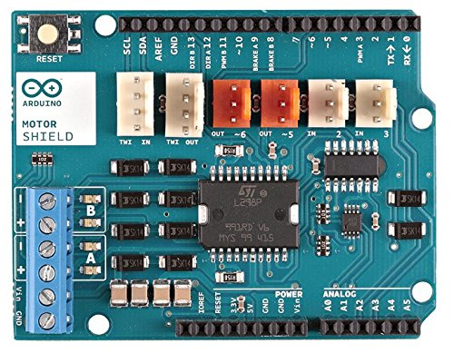 Arduino A000079 Motor Shield, R3, 5V to 12V (Best Arduino Motor Shield)