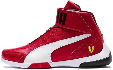 : PUMA Men's Ferrari Kart Cat Mid Iii Sneaker: Shoes