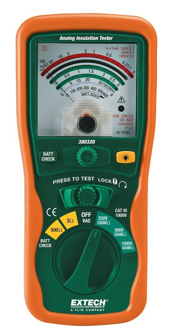 Extech 380320 Analog Insulation Tester