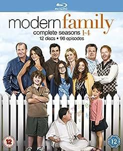 Modern Family: Season 1-4 [Reino Unido] [Blu-ray]