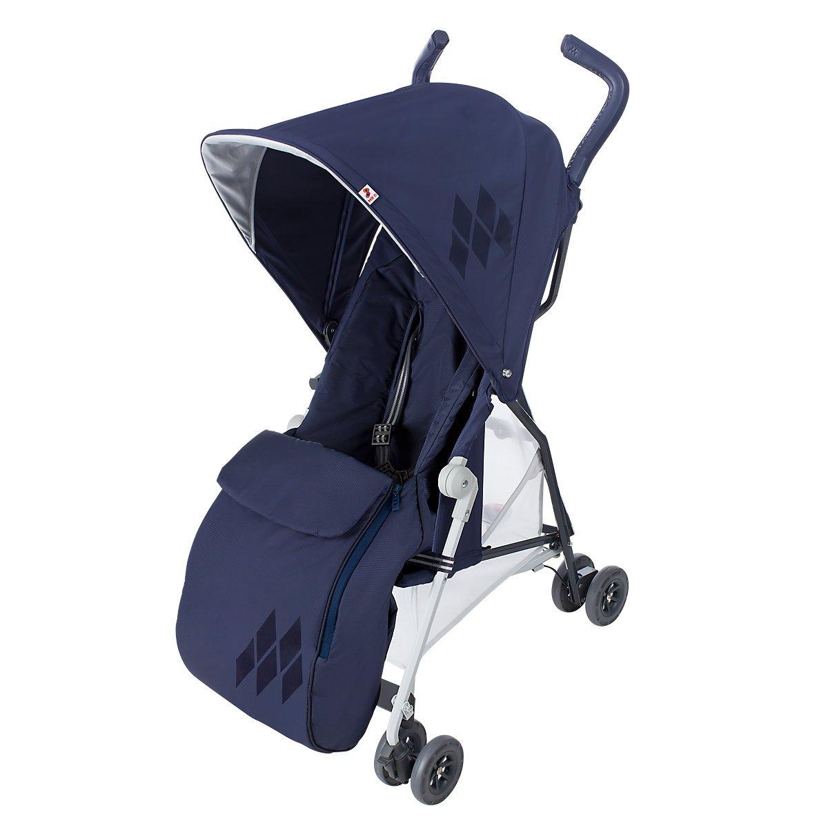 Premium Pushchair Footmuff Ocean Blue Cosy Toes For Maclaren Quest
