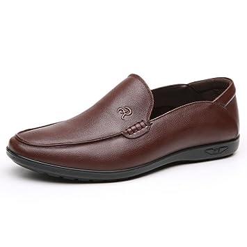 Zapatos de Hombre Artificial PU Mocasines Primavera/Otoño/Invierno Confort/ Zapatos de conducción Mocasines y Slip-Ons Hombres Zapatos de Cuero (Color ...