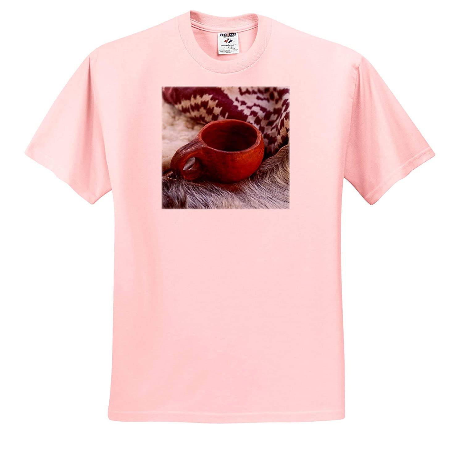 3dRose Alexis Photography Objects Misc T-Shirts Textile Cloth Animal Furs - Image of an Ancient Ceramic Mug