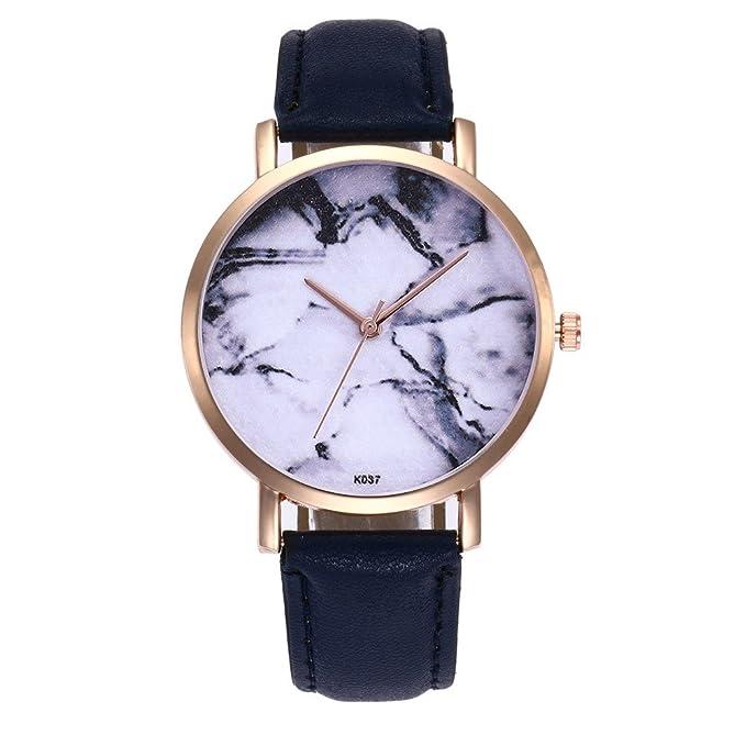 Coconano Relojes Mujer Baratos, Reloj de Pulsera Redondo de Cuarzo Analógico de Moda Para Mujer.: Amazon.es: Ropa y accesorios