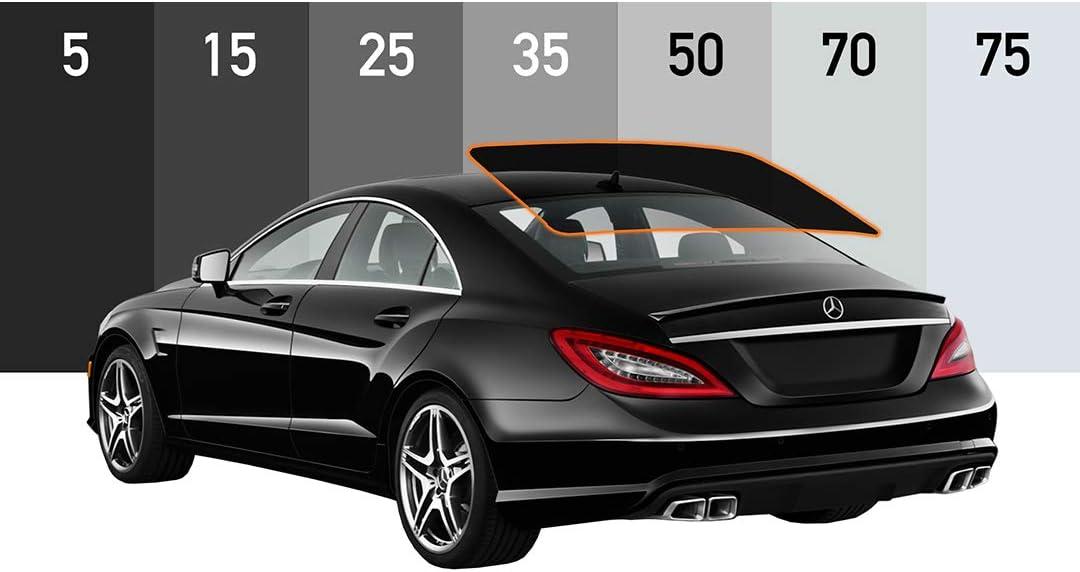 MotoShield Pro - Premium Precut Ceramic Window Tint for All Vehicles (Superior Heat Control/Blocks 99% UV) 2mil - Rear Windshield