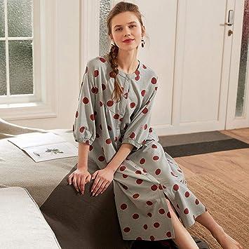 Pijamas Enteros Pijama De Mujer Toque Camisón Animado Punto ...